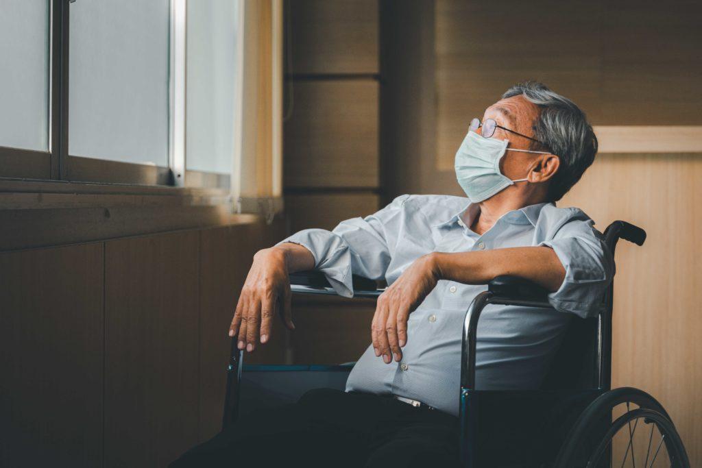 old man nursing homes indoor air quality