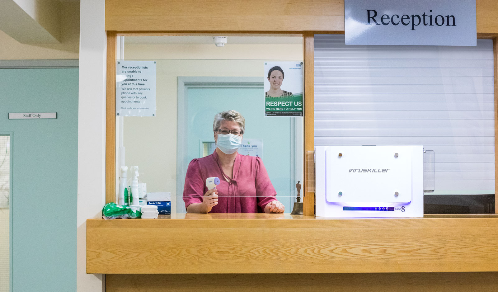 Clean Air in Doctors Reception